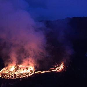 Nyiragongo Volcano Lava